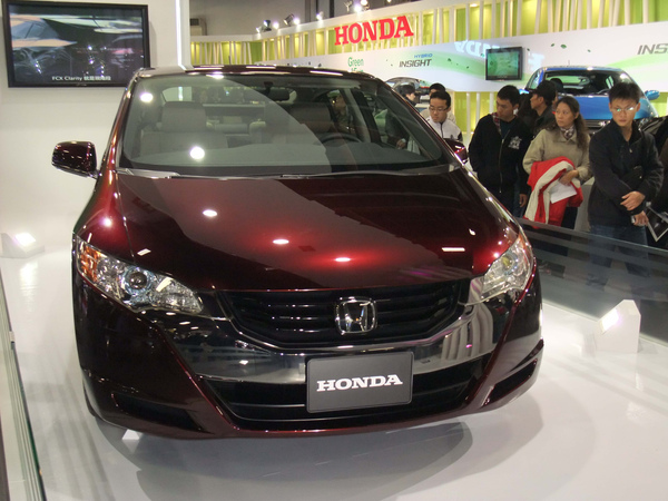 Honda FCX氫燃料車款