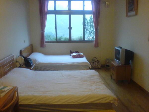 紅磚屋四人房的床