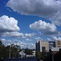 南岸公園的的藍天白雲