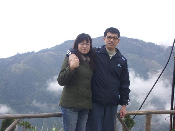 爸爸媽媽在雲的旁邊
