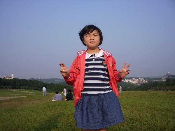 這是我妹在青青草原拍的