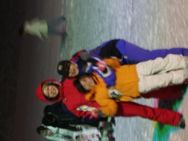 我們一起滑雪