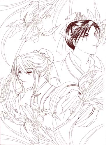 菖蒲-雙花