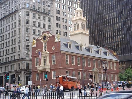 2007波士頓舊州政府(old Mass State House)