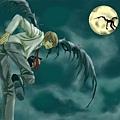 死亡筆記本卡通-黑翅膀的月 1.jpg