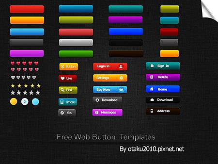 Free-Web-Button-Templates