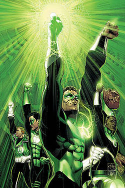Green Lantern-DC comic