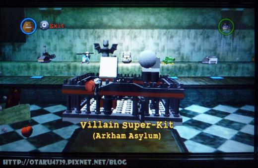 Villain Super-Kit(Arkham Asylum)