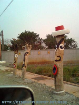 路邊詭異的藝術品