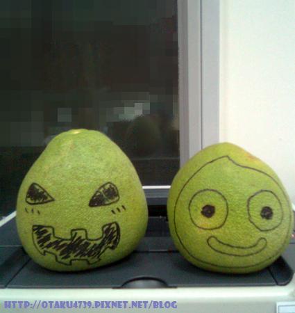 Halloween柚+史萊姆柚