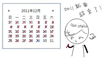 2011即將結束
