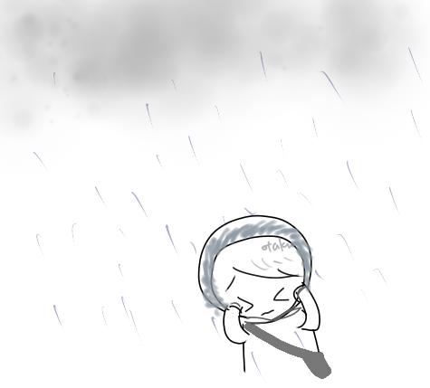 沒有預期的大雨