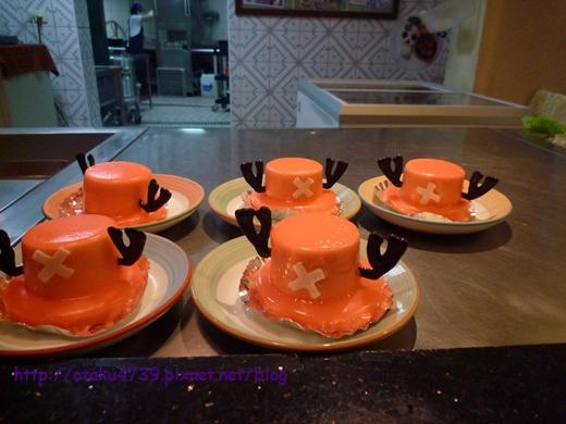 ONE PIECEメモリアルログ-喬巴帽蛋糕1