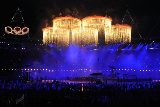 2012 Olympic Games-Opening Ceremony-奧運五環