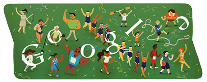 Google Doodle-倫敦奧運閉幕