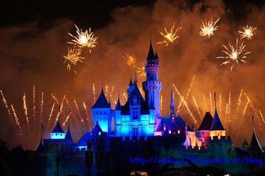 迪士尼「星夢奇緣」煙花表演