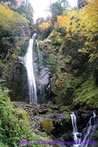抱返溪谷-回顧の滝