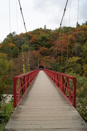 抱返溪谷-神の岩橋