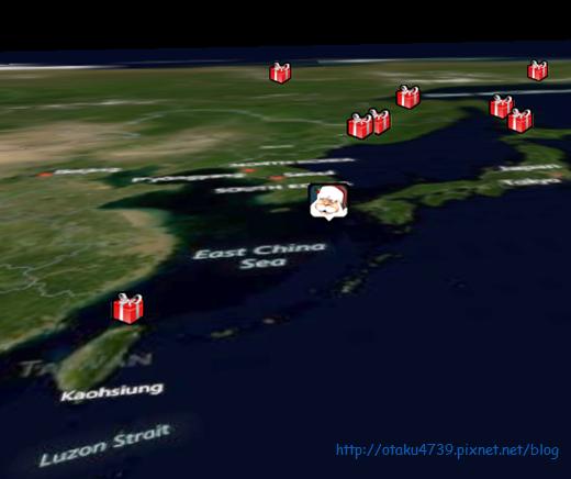 NORAD追蹤聖誕老人-台灣