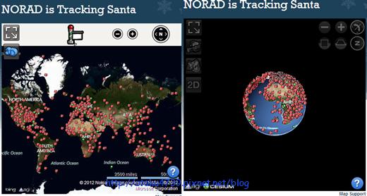 密密麻麻的禮物-NORAD