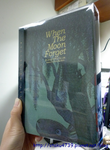 博客來交換禮物-幾米月亮忘記了年曆記事本1
