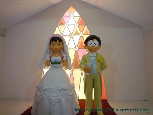 哆啦A夢誕生前100年特展-場景 大雄的結婚前夜