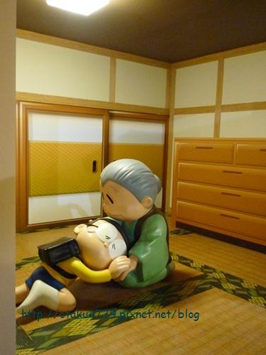 哆啦A夢誕生前100年特展-場景 大雄與奶奶