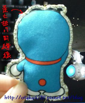 哆啦A夢-布偶明信片-背面
