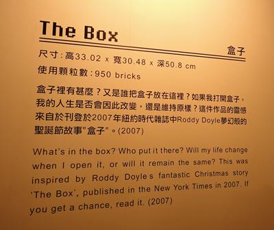 Nathan Sawaya積木夢工場-盒子2