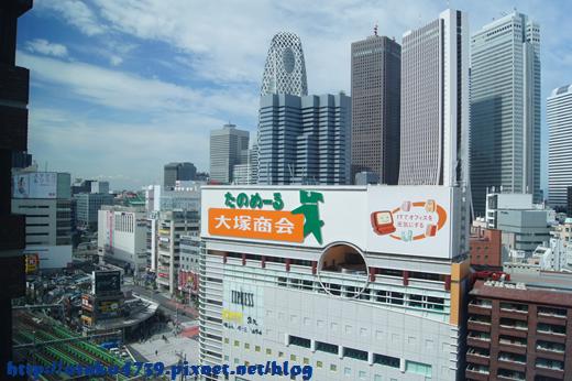 新宿王子大飯店view