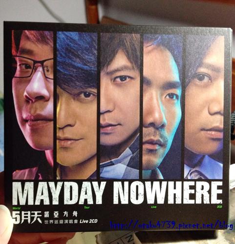 五月天-諾亞方舟 世界巡迴演唱會Live CD