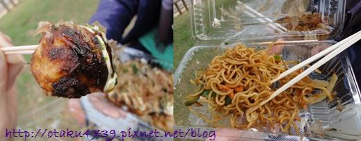 與儀公園-小吃 章魚燒+炒麵