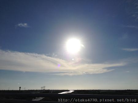 夏天午後的太陽