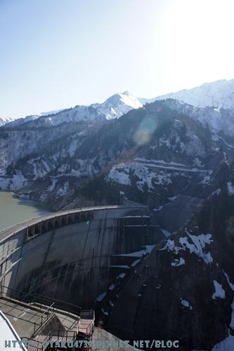 黑部大壩-觀景台上的view5