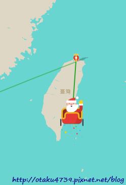 GOOGLE-聖誕老人-台灣4