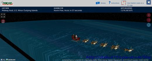 NORAD-聖誕老人1
