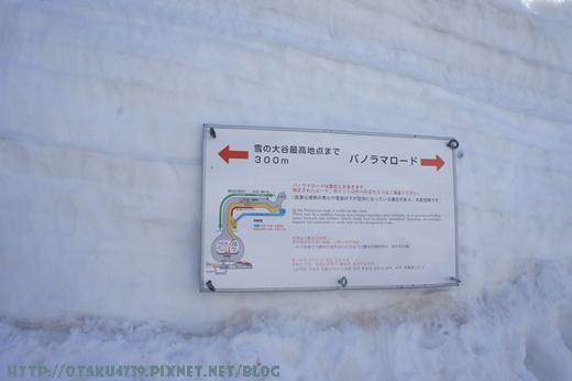 室堂站-雪牆2