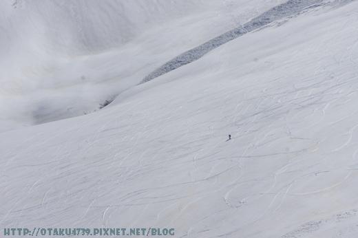 大觀峰-黑部平(約7分鐘)-好厲害的滑雪者2