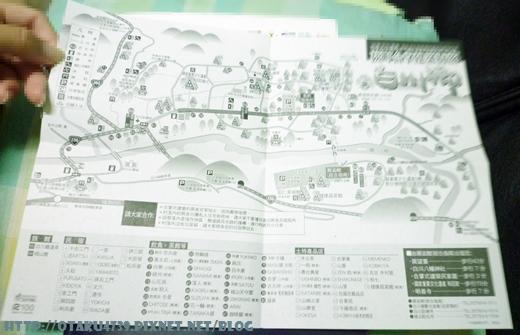合掌村路觀圖