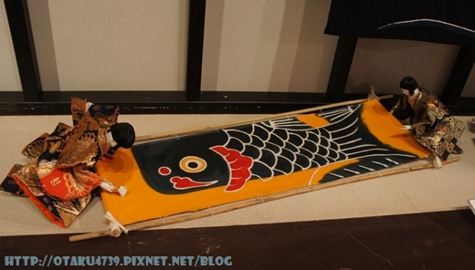 郡上八幡-博物館-鯉魚旗1
