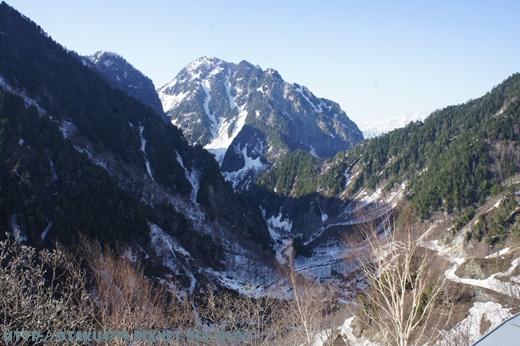 黑部大壩-觀景台上的view3