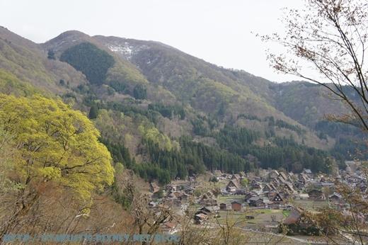 白川鄉合掌村-鳥瞰4