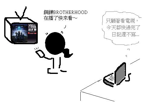 顧著看電視.PNG