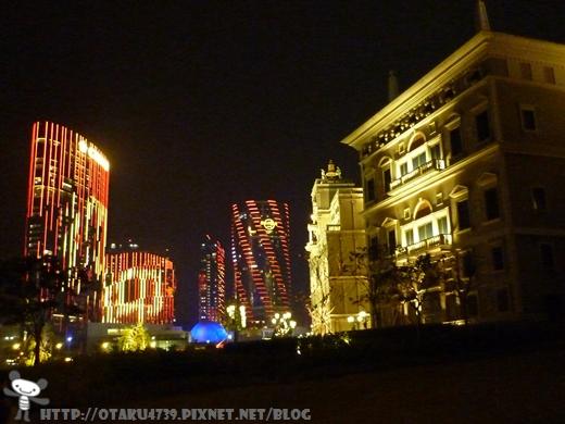 入夜後的威尼斯人酒店2.JPG