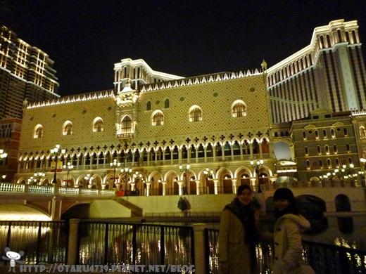 入夜後的威尼斯人酒店3.JPG