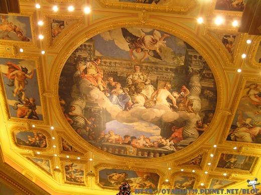 威尼斯人-天花板的彩繪