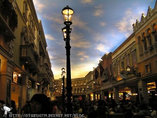 威尼斯人酒店-美食區