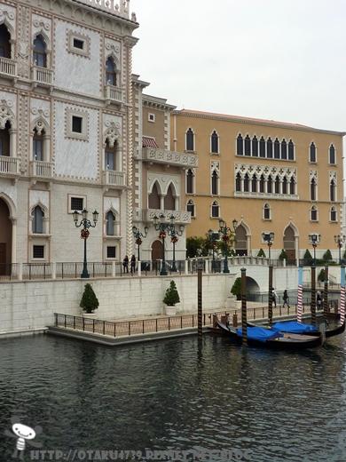 威尼斯人酒店一側