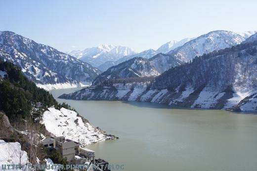 黑部大壩-觀景台上的view7