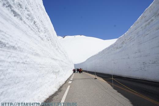 室堂站-雪牆9